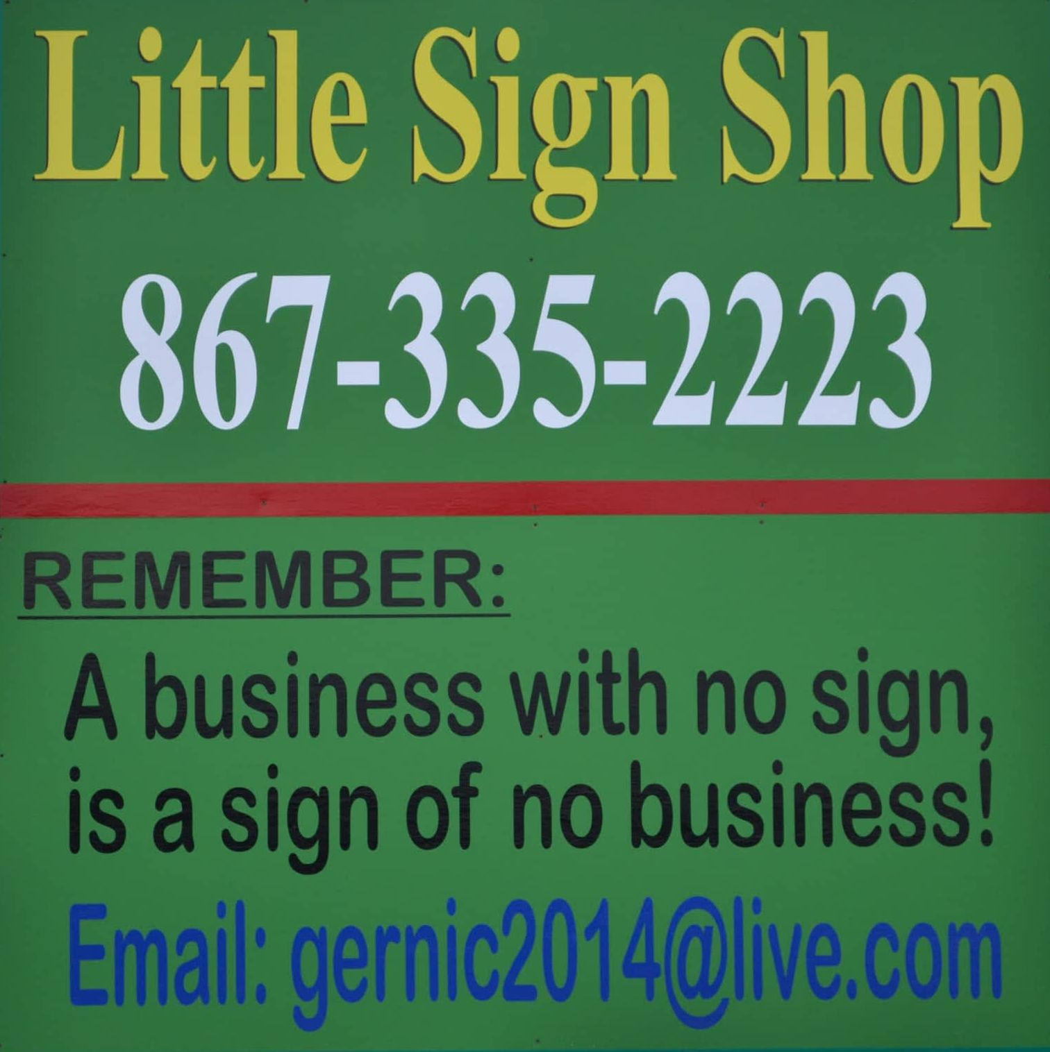 Little Sign Shop